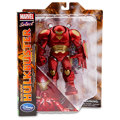 Diamond Select Toys Reissues Marvel Select Comic Hulkbuster Figure