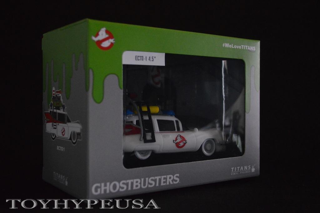Ghostbusters Titans Collection Nerd Block Exclusive Vinyl Ecto-1 Comparison Update