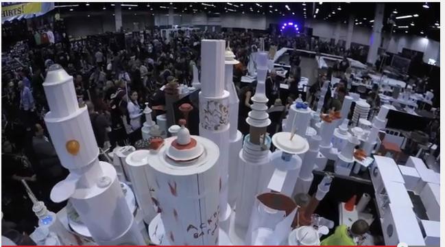 Hasbro Star Wars Celebration Cloud City Diorama Video & Press Release