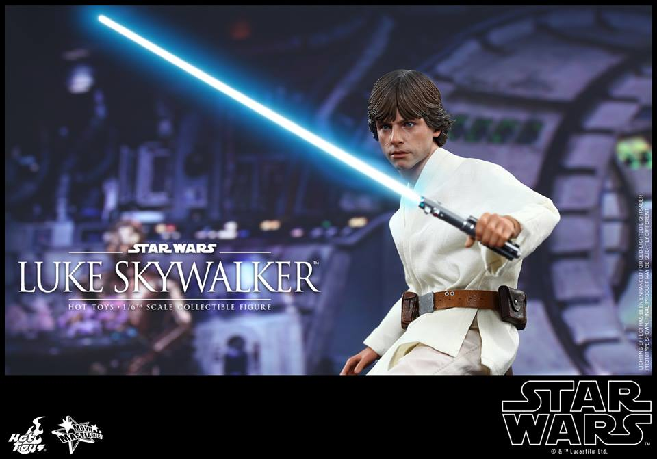 Hot Toys Star Wars A New Hope Luke Skywalker Sixth Scale Figure