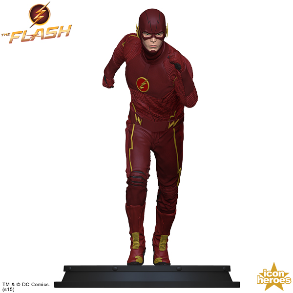 Icon Heroes The Flash TV Statue Paperweight