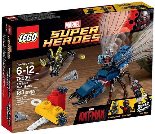 LEGO Marvel Super Heroes Ant-Man Final Battle (76039) Official Press Images