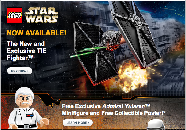 LEGO Shop Launches May The 4th LEGO Star Wars Sale
