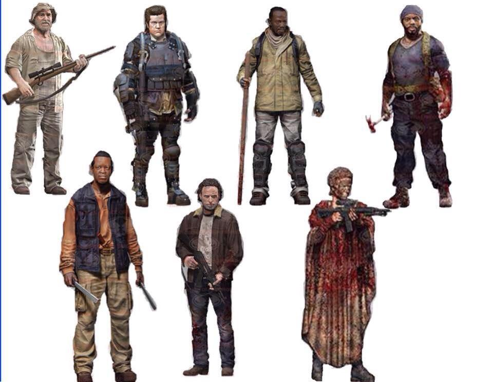 McFarlane Toys The Walking Dead TV Series 8 Variants Confirmed
