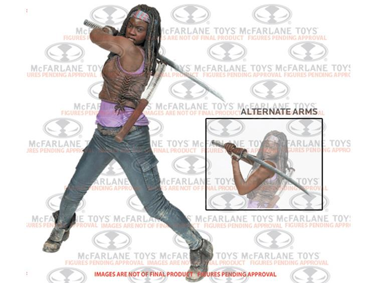 McFarlane Toys The Walking Dead TV Series Deluxe 10″ Michonne Figure
