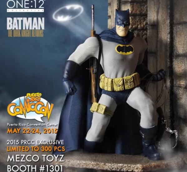 Mezco Announces One:12 Collective Dark Knight Returns Batman Exclusive Figure