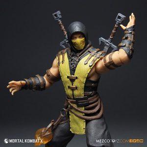 Mezco Mortal Kombat X Scorpion 12 inch Figure 2