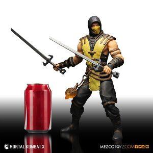 Mezco Mortal Kombat X Scorpion 12 inch Figure 3