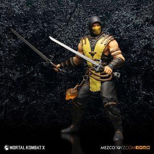Mezco Mortal Kombat X Scorpion 12 inch Figure