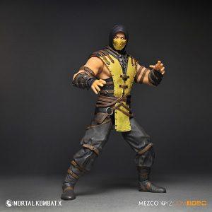 Mezco Mortal Kombat X Scorpion 12 inch Figure 4
