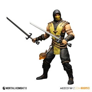 Mezco Mortal Kombat X Scorpion 12 inch Figure 5