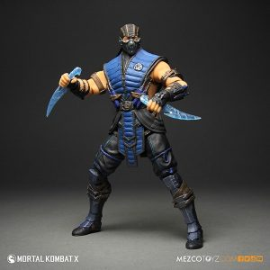 Mezco Mortal Kombat X SubZero 12 inch Figure 2