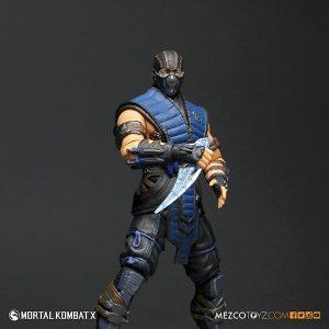 Mezco Mortal Kombat X SubZero 12 inch Figure 4