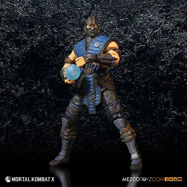 Mezco Mortal Kombat X SubZero 12″ Figure