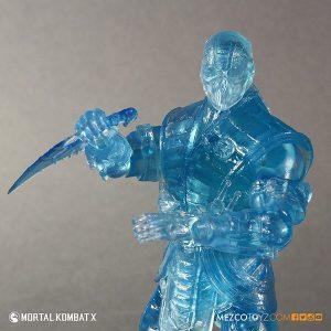 Mezco Reveals SDCC Exclusive Mortal Kombat X Ice Clone Sub Zero 1