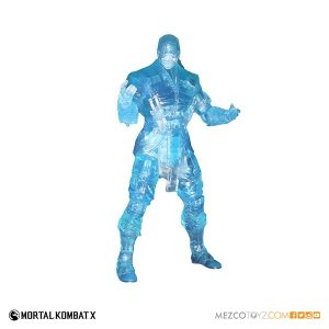 Mezco Reveals SDCC Exclusive Mortal Kombat X Ice Clone Sub Zero 2