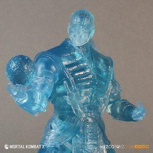 Mezco Reveals SDCC Exclusive Mortal Kombat X Ice Clone Sub Zero 3