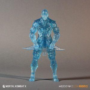 Mezco Reveals SDCC Exclusive Mortal Kombat X Ice Clone Sub Zero 4
