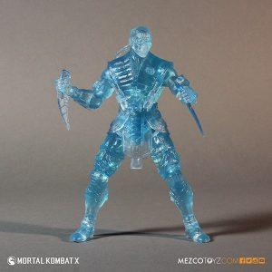 Mezco Reveals SDCC Exclusive Mortal Kombat X Ice Clone Sub Zero 5
