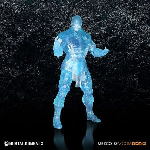 Mezco Reveals SDCC Exclusive Mortal Kombat X Ice Clone Sub Zero 6