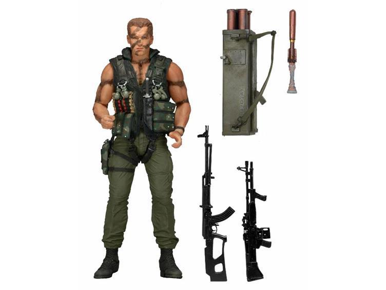 NECA Announces Commando 30th Anniversary 7″ Figure – Ultimate John Matrix