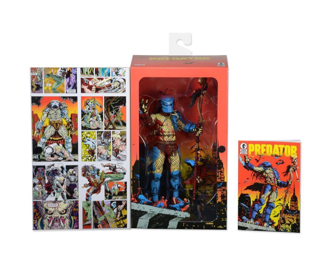 NECA Dark Horse Comics 25th Anniversary Predator Figure Packaging Image