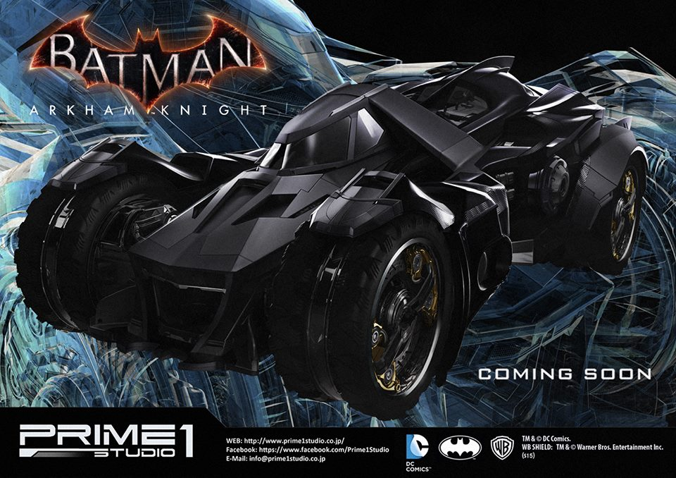 Prime 1 Studio Announces Batman Arkham Knight Nightwing & Batmobile Statues