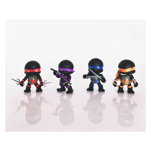 The Loyal Subjects SDCC 2015 Exclusives TMNT Stealth Edition Action Vinyls