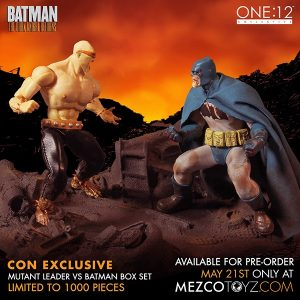 The One 12 Collective Limited Edition Summer Exclusive The Dark Knight Returns Deluxe Boxed Set