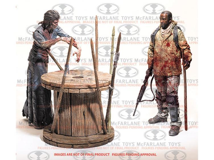 The Walking Dead TV Series Deluxe Box Set – Morgan With Walker & Trap