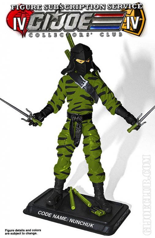 G.I. Joe Collectors' Club FSS 4.0 Nunchuck & Cobra Inferno B.A.T. Figure Preview
