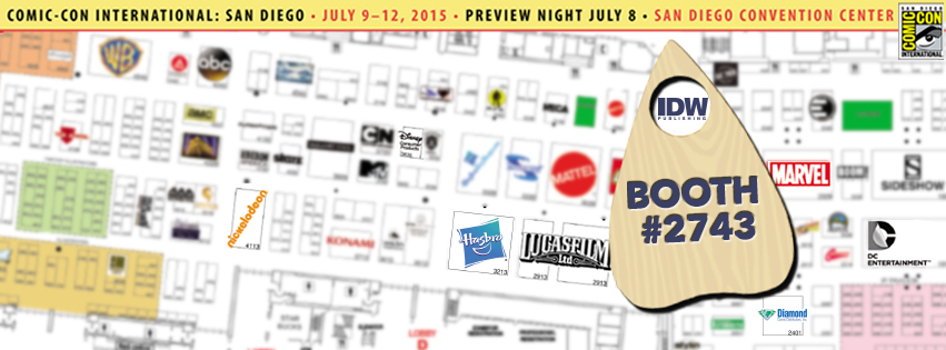 IDW & Top Shelf Announce SDCC 2015 Exclusives & Debuts