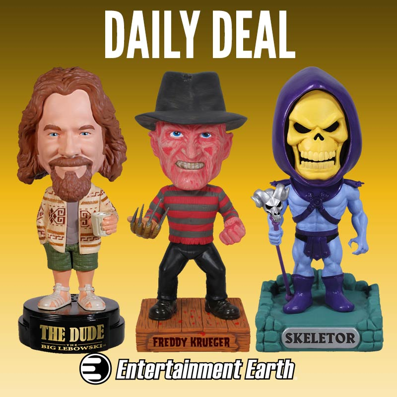 Entertainment Earth Daily Deal – Funko Bobble Heads Up To 77% Off