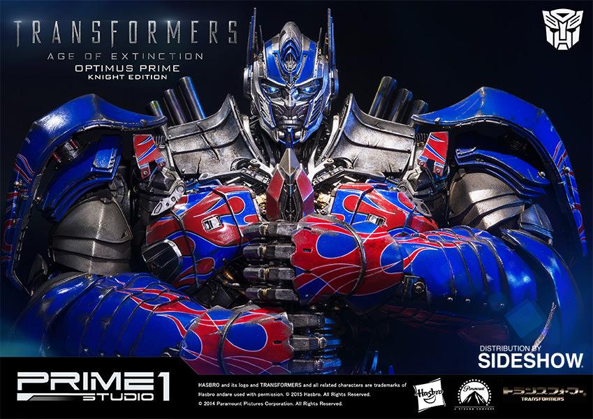 Prime 1 Studio Transformers Optimus Prime Knight Edition Polystone Statue