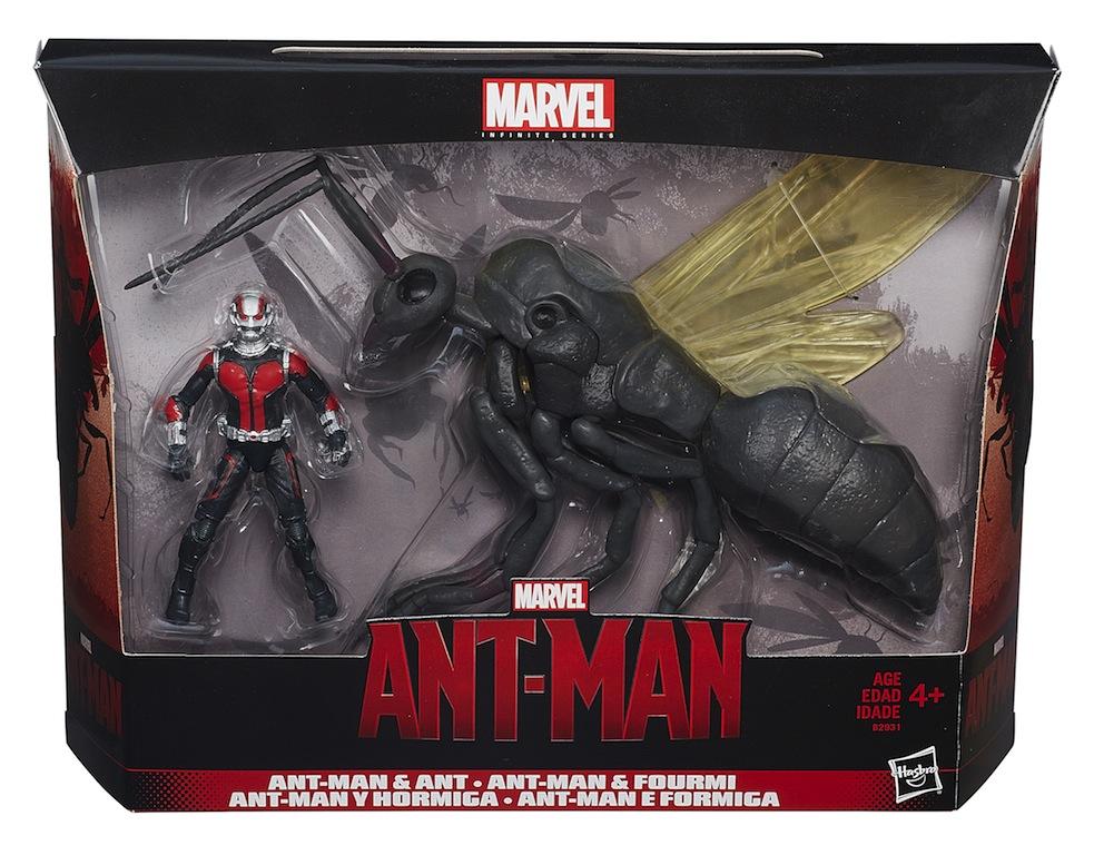Ant-Man Marvel Legends 6″ Wave 1 Official Press In-Packaging Images