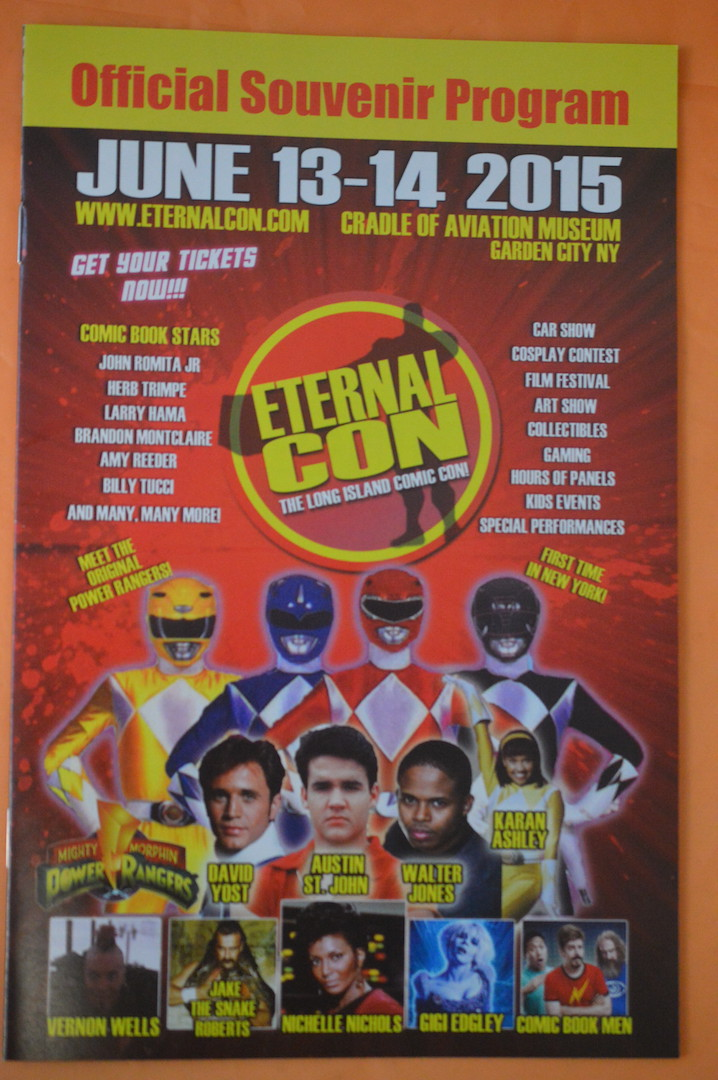 Eternal Con 2015 – Celebrity Guests, Show Schedule & More