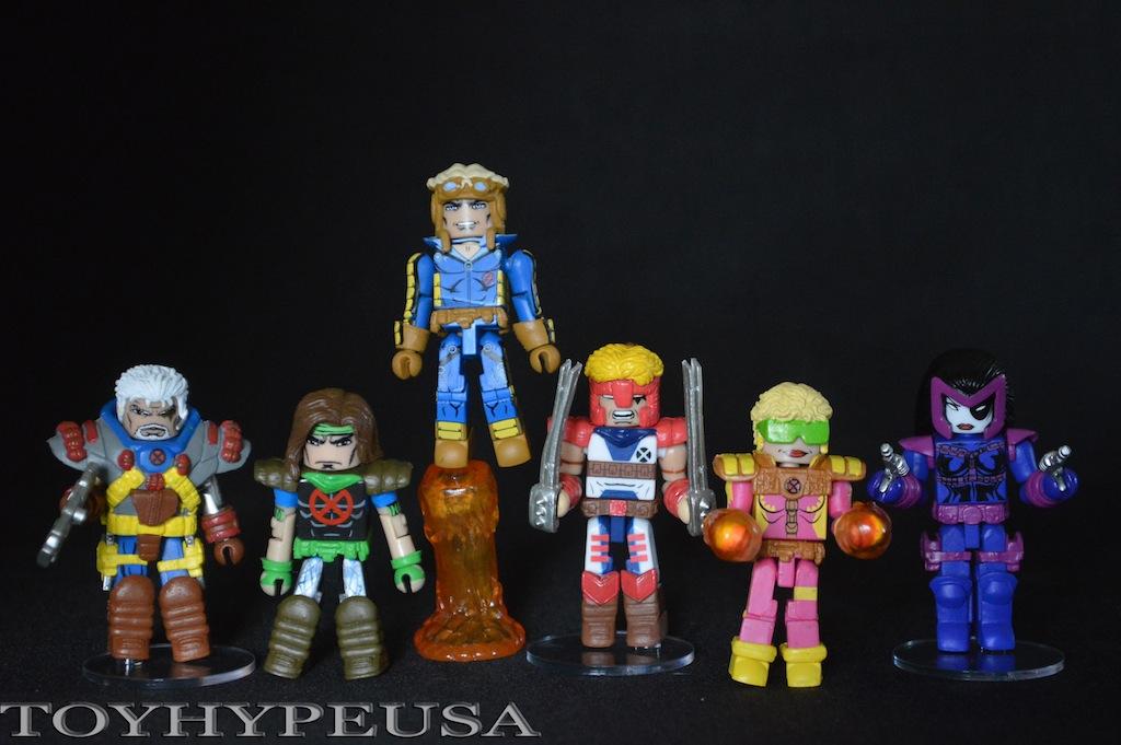 Diamond Select Toys Marvel Minimates Classic X-Force Box Set Review