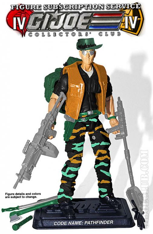 G.I. Joe Collectors' Club FSS 4.0 Pathfinder Figure Preview