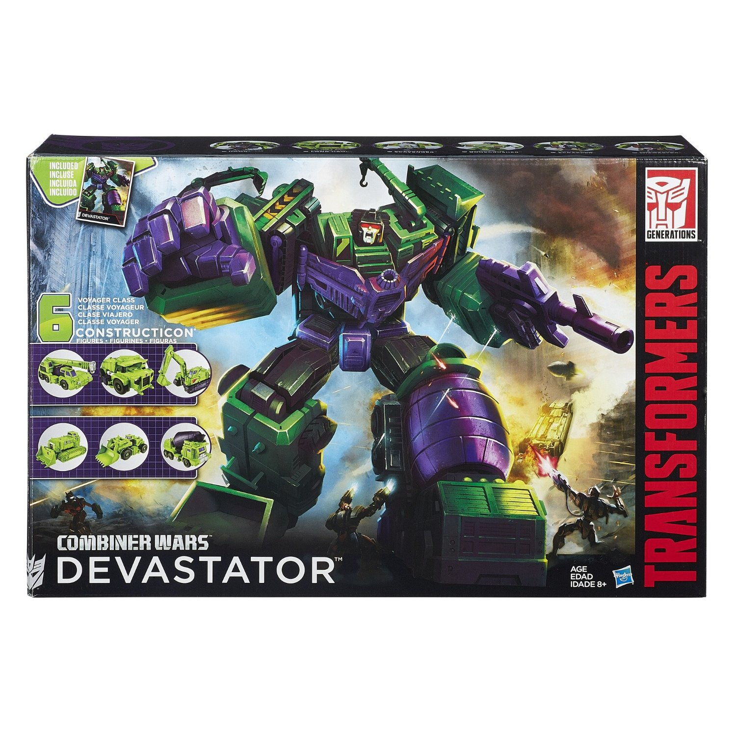 Hasbro Transformers Combiner Wars Devastator Figure Pre-Orders Still Available On Amazon