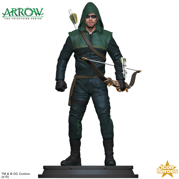 Icon Heroes Arrow Season 1 Statue Paperweight