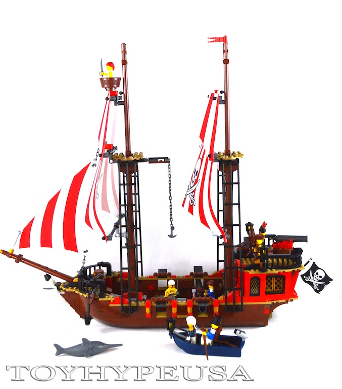 LEGO Pirates The Brick Bounty 70413 Review