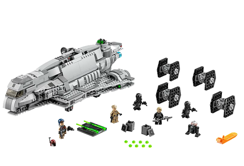 LEGO Star Wars Rebels 75106 Imperial Assault Carrier Set Now Available