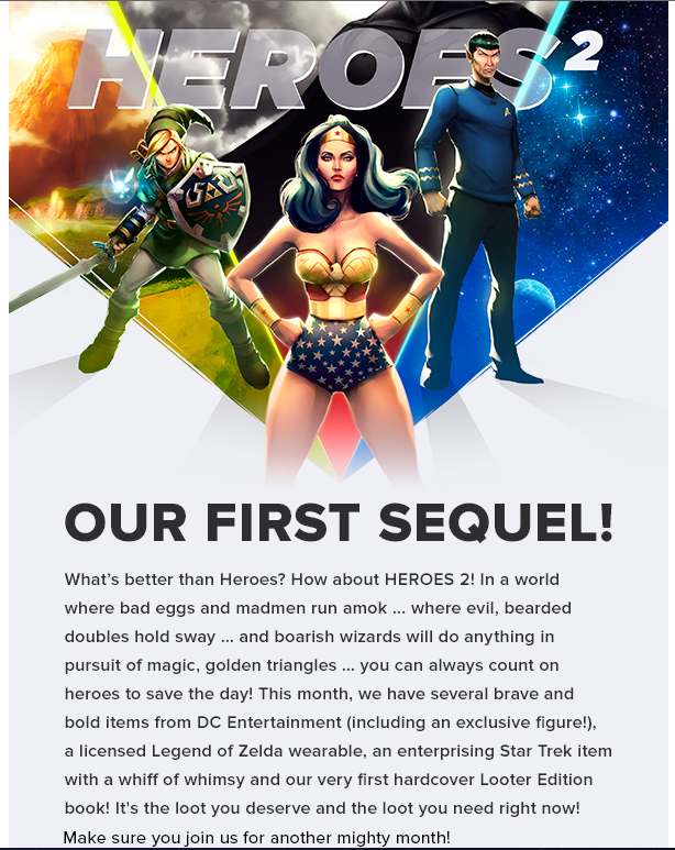 Last Day To Subscribe To Lootcrate For Their Exclusive DC Figure
