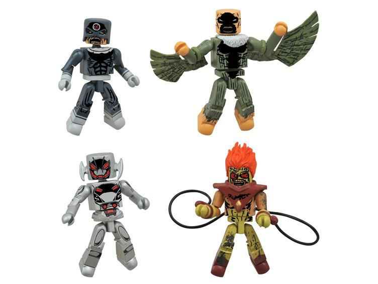 Marvel Minimates Villain Zombies Vs. Age Of Ultron Secret Wars Box Set $12.99 At Amazon
