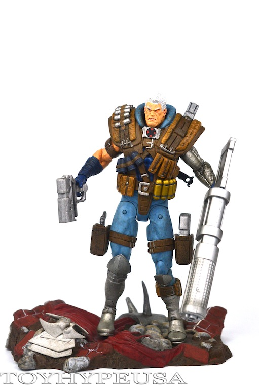 Marvel Select Cable Figure Review