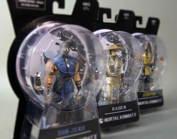 Mezco Mortal Kombat X 6″ Figure Packaging Images