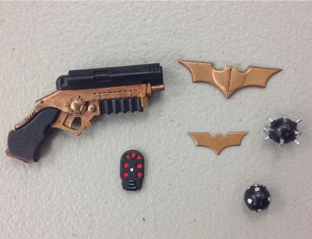 NECA Announces New Quarter Scale Christine Bale Batman Figure