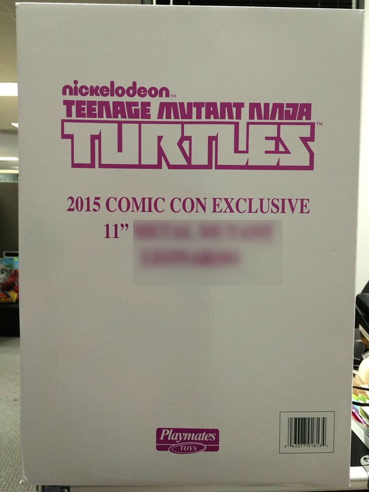 Playmates Toys Hints Another Teenage Mutant Ninja Turtles SDCC 2015 Exclusive Image