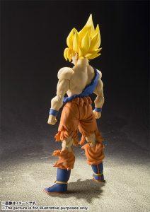 S.H. Figuarts Super Saiyan Goku Super Warrior Awakening Version Figure Announced 3