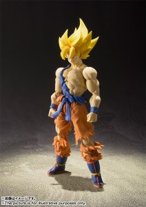 S.H. Figuarts Super Saiyan Son Goku Super Warrior Awakening Version 2